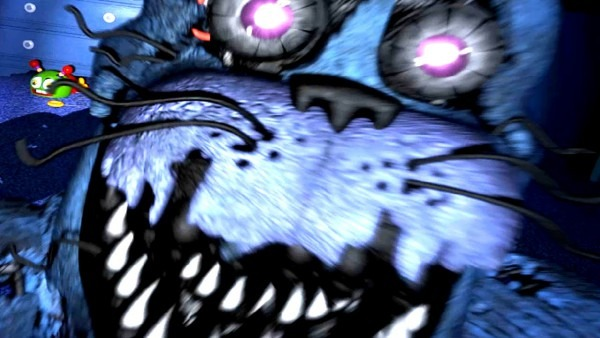 Five Nights At Freddy's 4  Bonnie 2nd Jumpscare