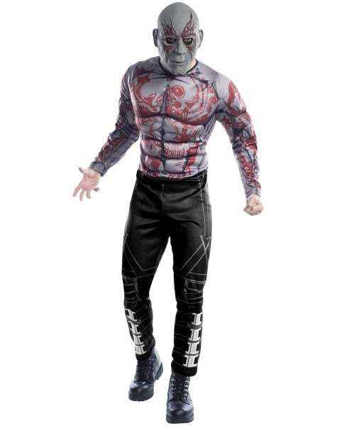 Guardians Of The Galaxy Drax Costume