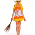 Candy Corn Witch Hat