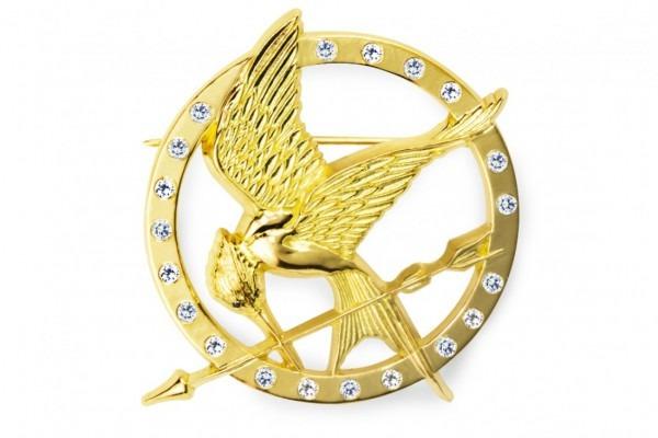 Limited Edition 18k Gold Diamond Mockingjay Pin – Inviverse