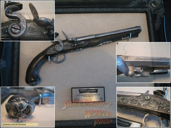 Pirates Of The Caribbean Movies Jack Sparrow's Flintlock Master