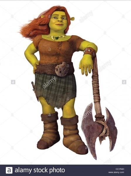 Princess Fiona Shrek Forever After (2010 Stock Photo  41836721