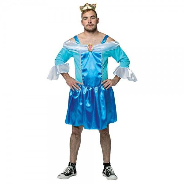 Mens Cinderfella Funny Princess Costume 791249730000