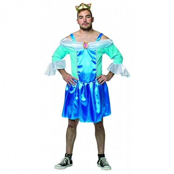 Mens Cinderfella Princess Costume