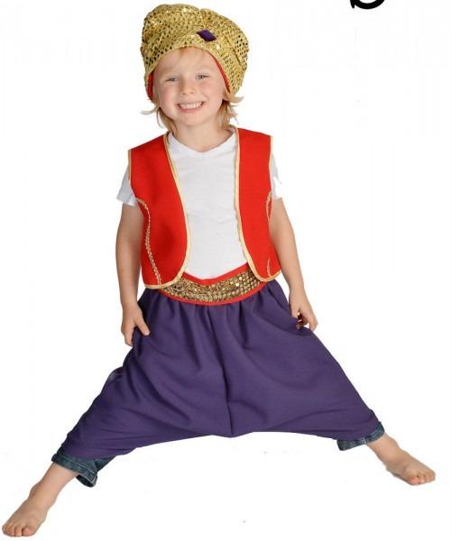 Boys Prince Costumes & Childs Childrens Boys Book Day Genie
