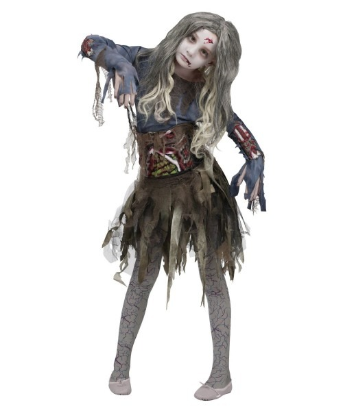 Scary Halloween Costumes 9 Year Old Girl, Pictures Of Zombie