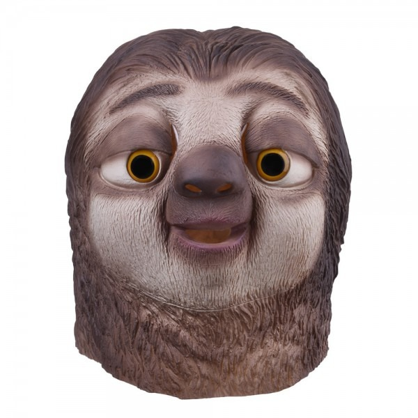 Sloth Latex Mask Zootopia Sloth Mask Nick Wilde Latex Full Head