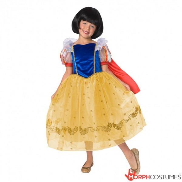 Kids Deluxe Disney Princess Costume