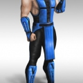 Kids Sub Zero Halloween Costume