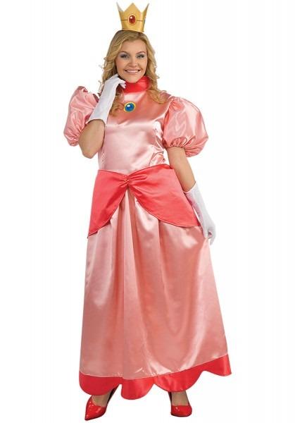 Super Mario Princess Peach Deluxe Costume Plus Size Escapade Uk