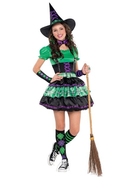 Creative Halloween Costumes For Teens & Teen Wicked Cool Witch