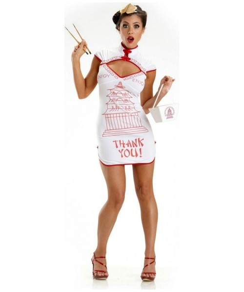 Adult Chinese Takeout Costuems