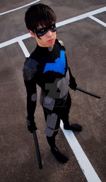 Boys Nightwing Costume & Nightwing In His Titans Costume Sc 1 St
