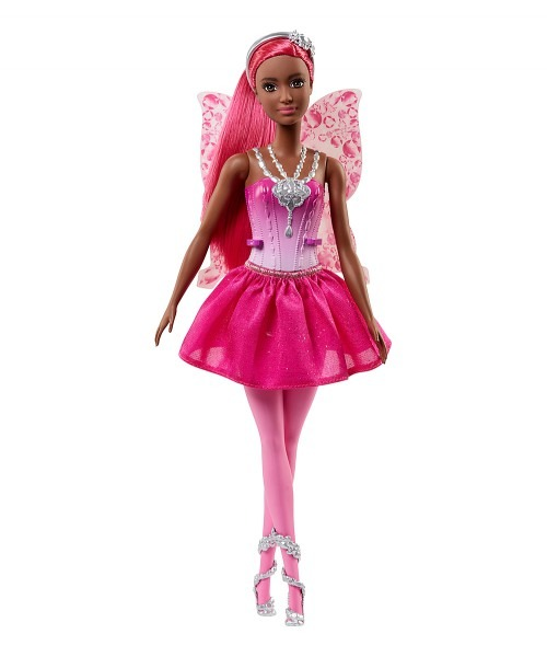 Mattel Barbie Sparkle Mountain Dark Skin Tone Pink